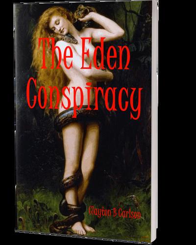 The Eden Conspiracy 3D front book cover